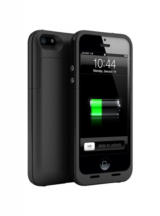 Juice pack plus для iPhone 5/5S (черный) 2000mAh