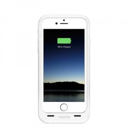 УЦЕНКА (трещина на пластике) mophie juice pack для iPhone 6,6s - 2750mAh (белый)  1