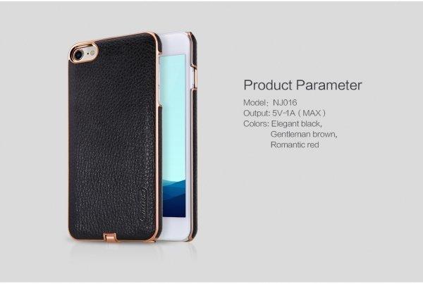 ресивер чехол кожаный для Iphone 7 Nillkin N Jarl Wireless для