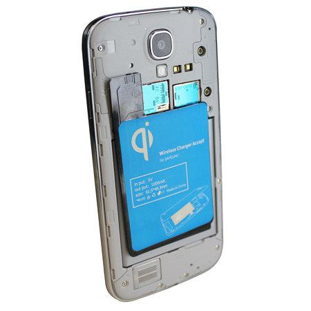 беспроводная зарядка для Samsung Galaxy S4 комплект