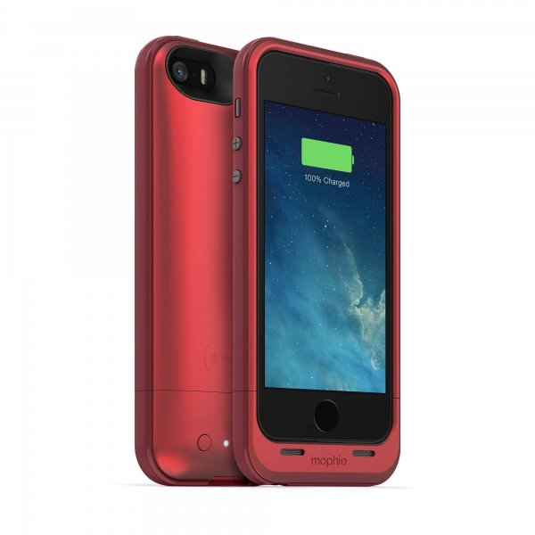 Mophie juice pack Plus для iPhone 5/5S/SE - 2100mA (RED) оригинал MFi