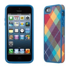 Чехол  Speck Fabshell Megaplaid Spectrum для iPhone 5