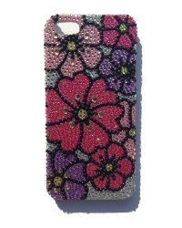 "Чехол со стразами для iPhone 5 ""Flowers 4"""