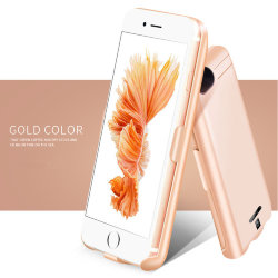 Чехол для iPhone 8/7/6/6s PLUS - Battery Case 10000mAh gold (B-01)