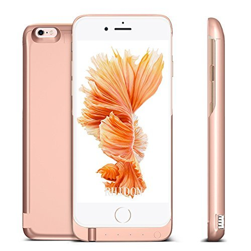 Battery Case 7000mAh для iPhone 6/6s (Усиленный) Rose Gold