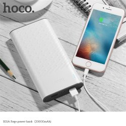 Аккумулятор HOCO 30000mAh Pawker power bank (B31a оригинал)  1