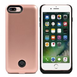 Чехол для iPhone 7/8 PLUS  - BackUp Power 9000mAh (Pink)