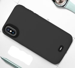 "Чехол зарядка для iPhone X / Xs - 5000mAh ""Power Case Color"" grey iX-03"