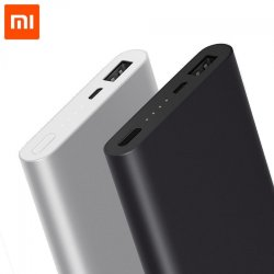 Xiaomi Power Bank 2 - 10000mAh PLM02ZM *Оригинал