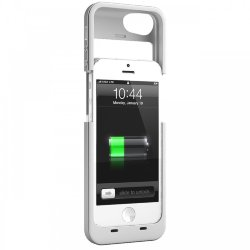 Juice Pack PLUS (white) для iPhone 5/5S