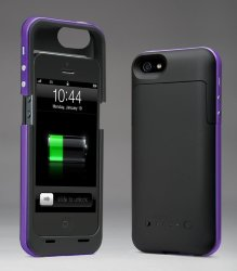 Juice pack plus для iPhone 5/5S (фиолетовый) 2000mAh