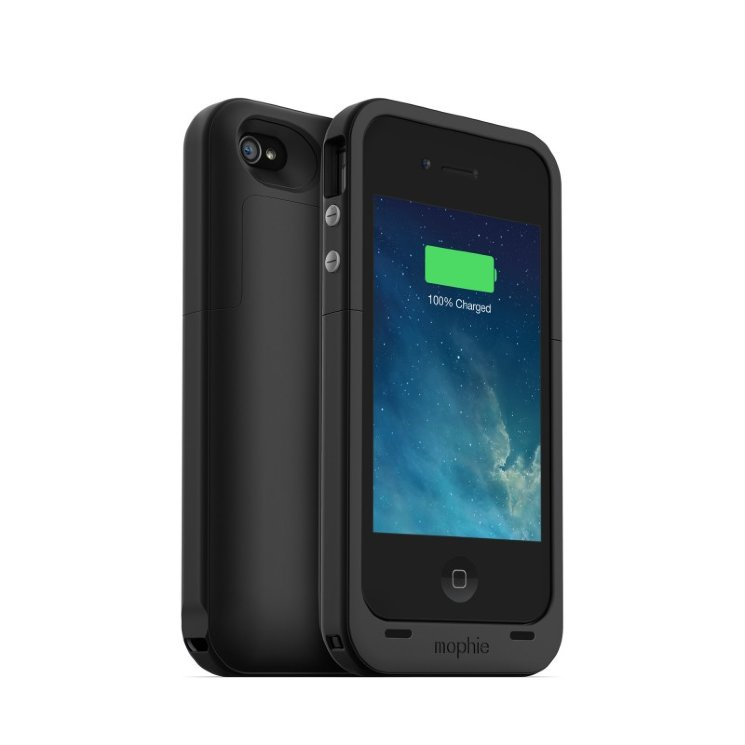 Mophie Juice Pack plus (ЧЕРНЫЙ) iPhone 4/4S