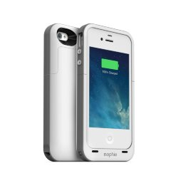 Mophie Juice Pack Plus (БЕЛЫЙ) - iPhone 4/4s